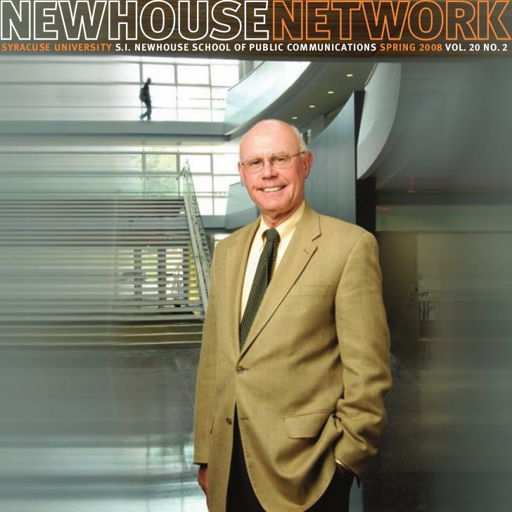 Newhouse Network magazine, spring 2008