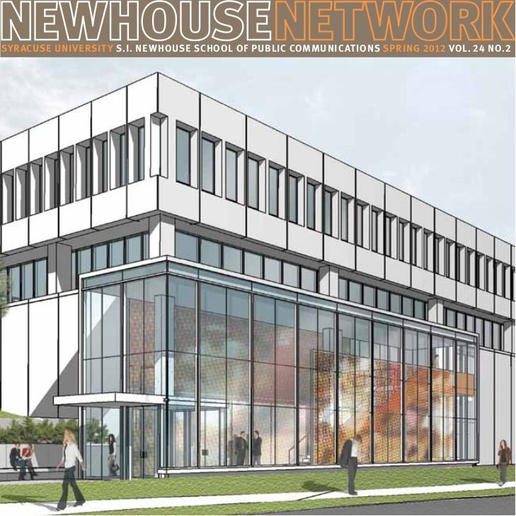 Newhouse network magazine spring 2012 for Www newhouse com