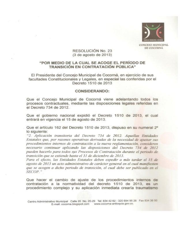 No. 23, transición concejo contratación, pdf