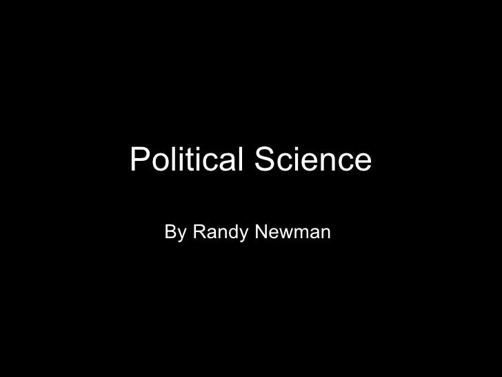 Political Science By Randy Newman
