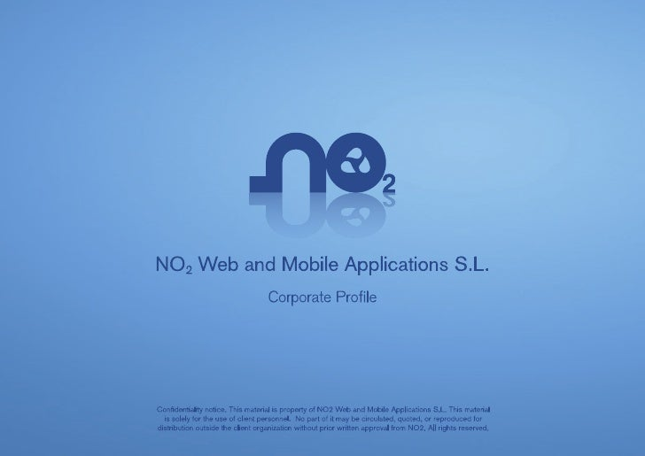 No2 web and mobile app