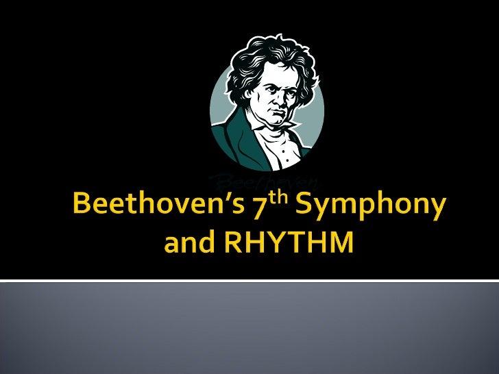 No 4 Beethovens 7th Symphony An D Copland