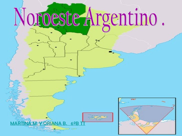 .  MARTINA M. Y ORIANA B.  6ºB TT Noroeste Argentino .