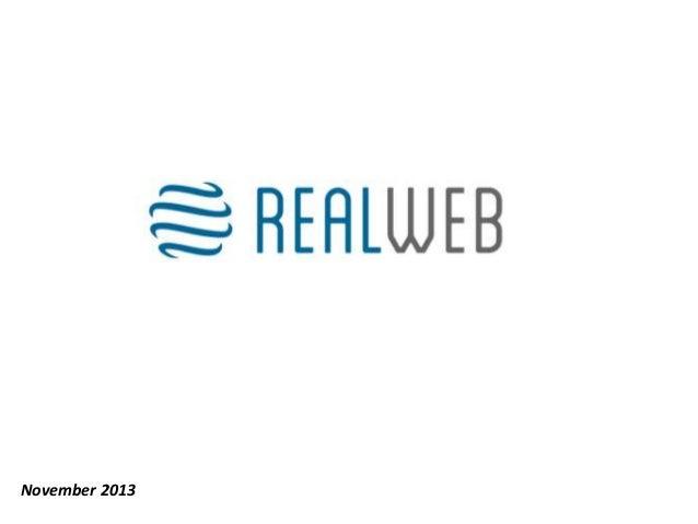 Real Web - NOAH13 London