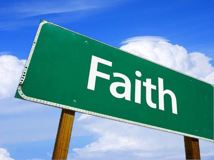 Noah's Faith WORKED Slides, 8/1/10