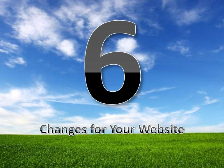 Noah six website tips