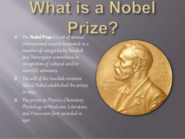 nobel laureate essay This pdf is a selection from an out-of-print volume from the national bureau of economic research volume title: essays in the economics of crime and punishment.