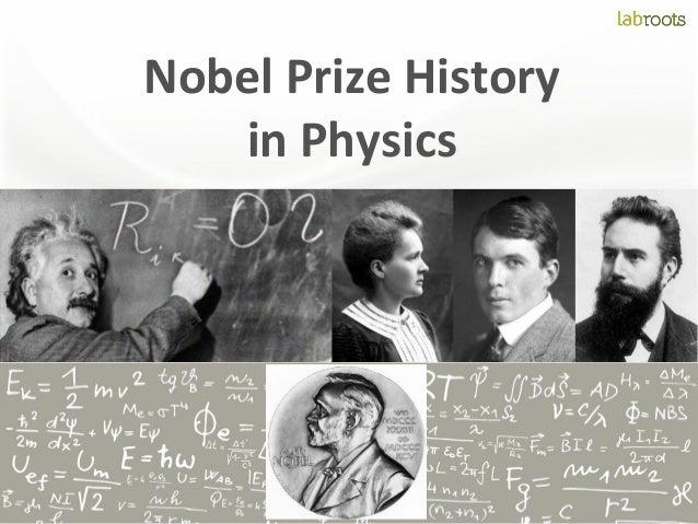 Nobel Prize History in Physics