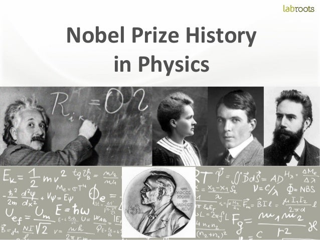 Nobel prize history in physics