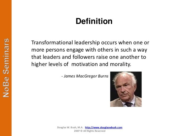 the effects of transformational leadership education essay Transformational schools and transformational leadership are terms easily and   and determined that transformational leaders are judged by their impact on.