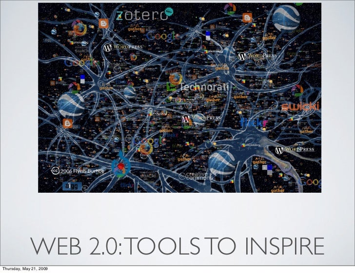Web 2.0 Tools to Inspire