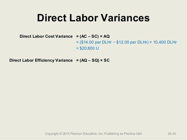 direct labor as a variable cost 1 answer to direct materials, direct labor, and factory overhead cost variance road gripper tire co manufactures automobile tires standard costs and actual costs.