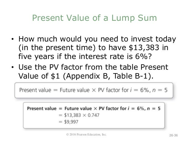 Nobles finmgr5 ppt 26 for Table 6 4 present value of an ordinary annuity of 1
