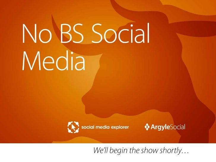 No BS Social Media