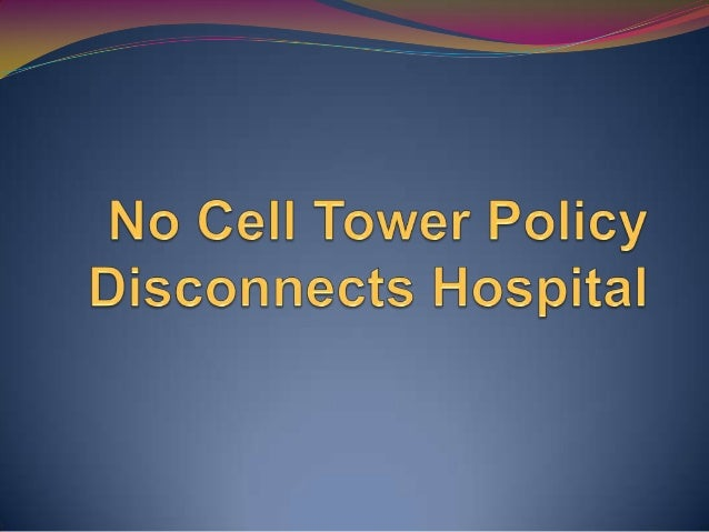 BMC Orders a Ban on Mobile Towerson Hospitals and EducationalInstitutions