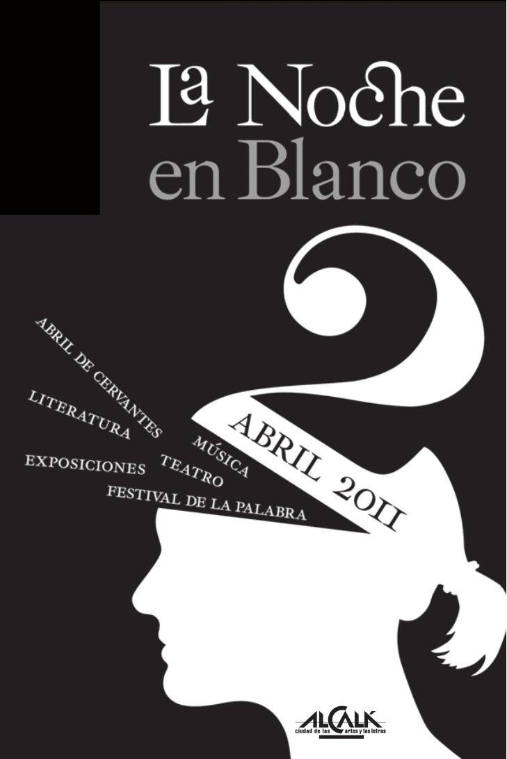 Relación de espacios y lugares, y su situación en el planoLa Noche en Blanco de Alcalá,                                 (v...