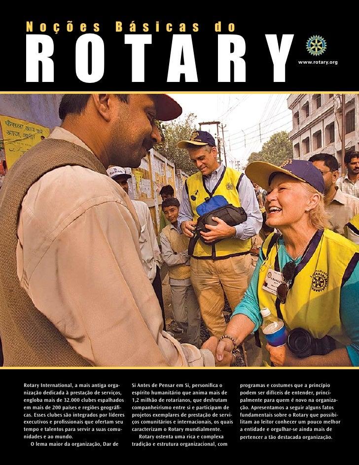 Nocões Básicas sobre Rotary Internacional