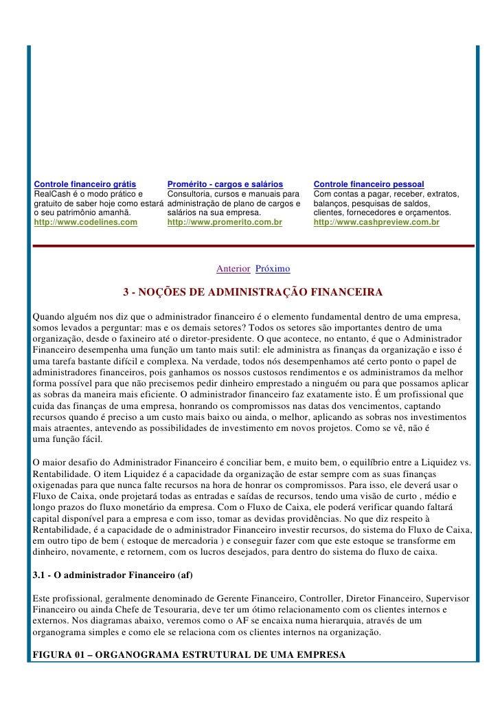 Controle financeiro grátis           Promérito - cargos e salários        Controle financeiro pessoal RealCash é o modo pr...