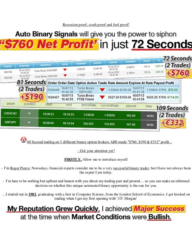 Secret strategy to profit from binary options