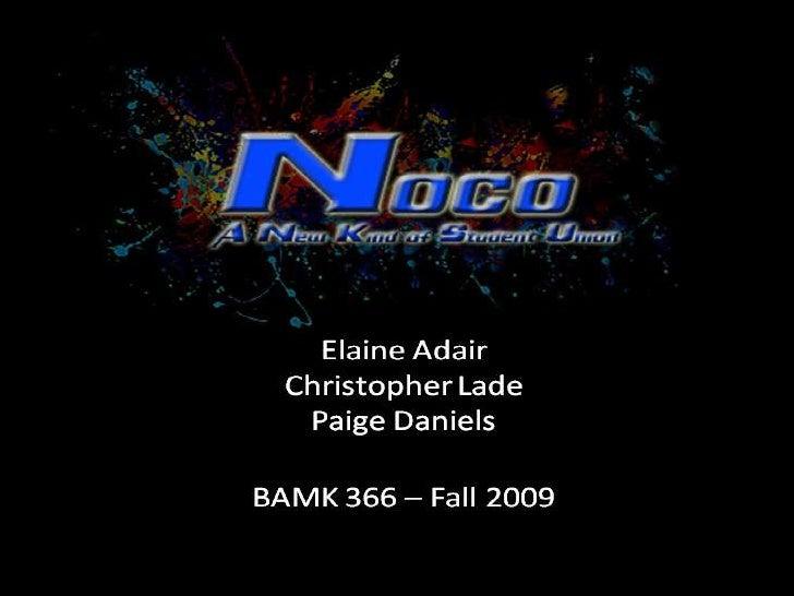 NoCo Presentation