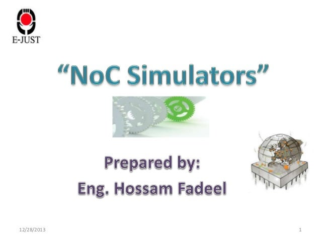NoC simulators presentation