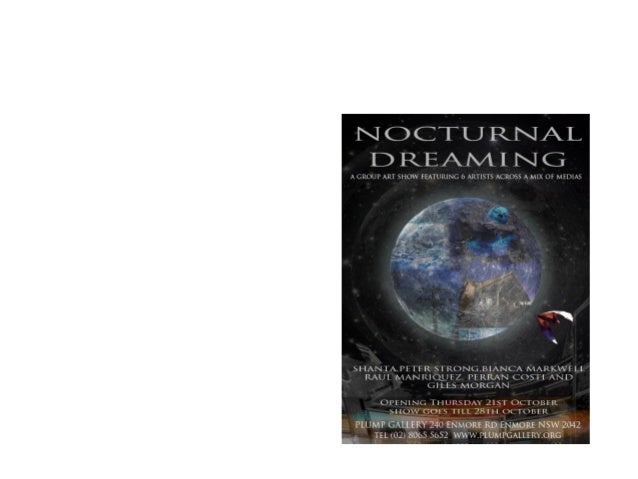 Nocturnal dreaming slideshow