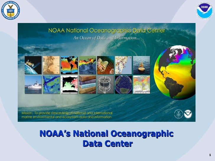 NOAA's National Oceanographic  Data Center