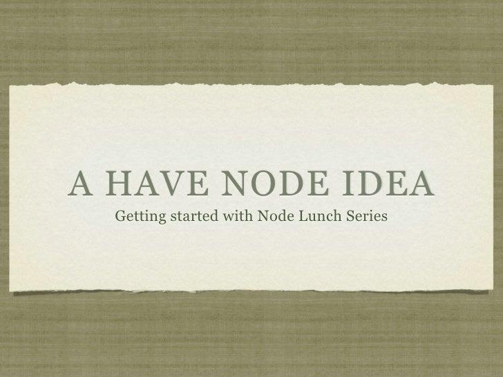 Starting Node
