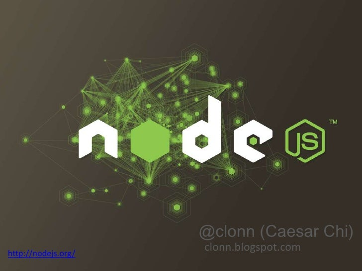 Nodejs introduce - using Socket.io