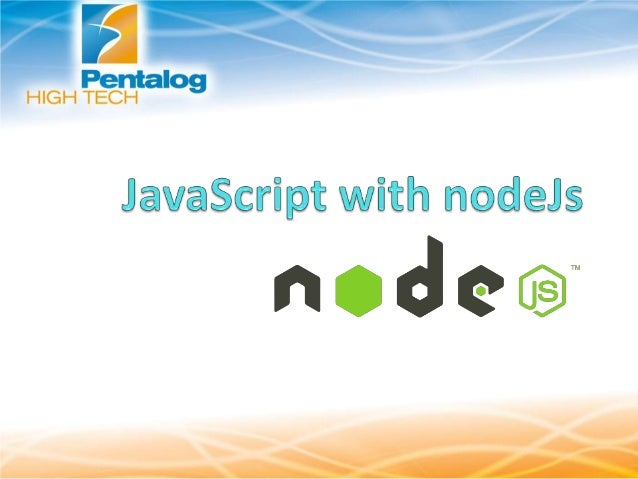 What is Node JS?  A JavaScript runtime environment running Google        Chrome's V8 engine Node.js is a platform for...