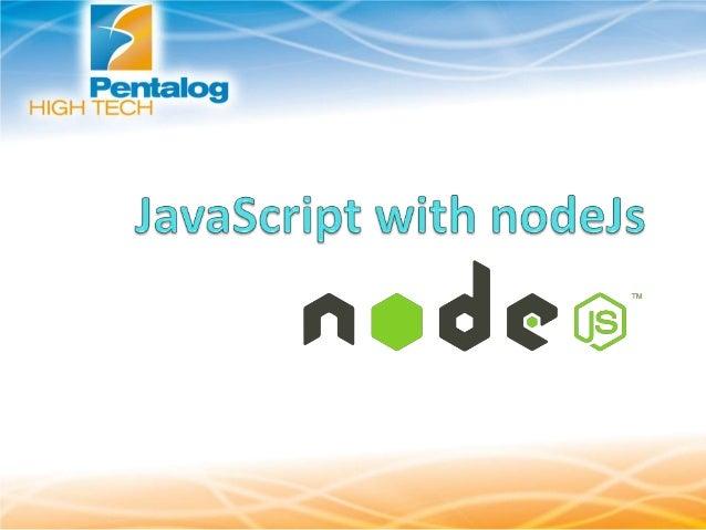 Scalable network applications, event-driven - Node JS