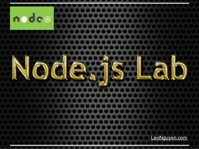 Node.js Lab