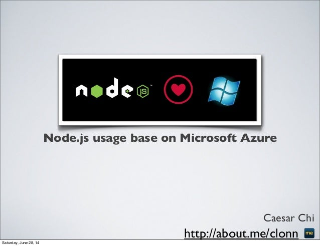 Node.js x Azure, cli usage, website deployment