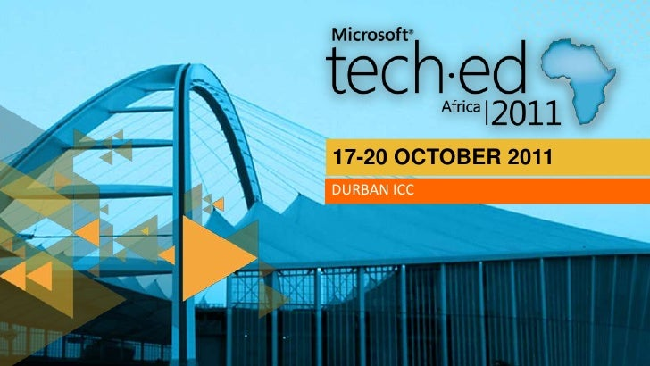 TechEd Africa 2011 - OFC307: Architecting a Disaster Tolerant and Highly Available SharePoint 2010 Farm