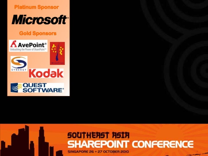 SEASPC 2011 - SharePoint Security in an Insecure World: Understanding the Five Layers of SharePoint 2010 Security