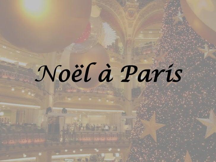 Noël à Paris<br />