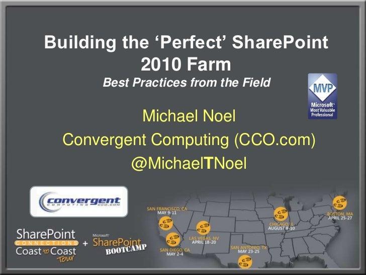 SharePoint 2010's Virtual Reality - SPC2C