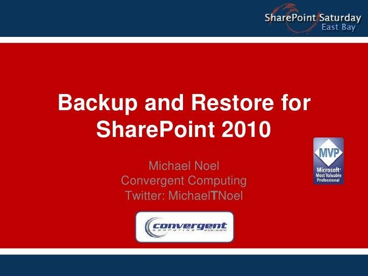 Noel sps bay_backup_restore