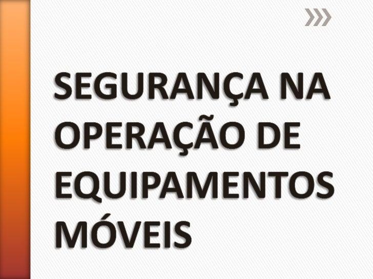 » INSTRUTOR: Lucas Fernando Lopes Carreiro Técnico em Segurança do Trabalho - Registro: 20664/MG -MTB