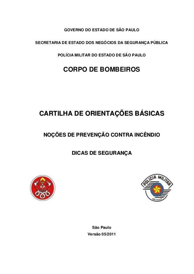 Noções de prevenção contra incêndio