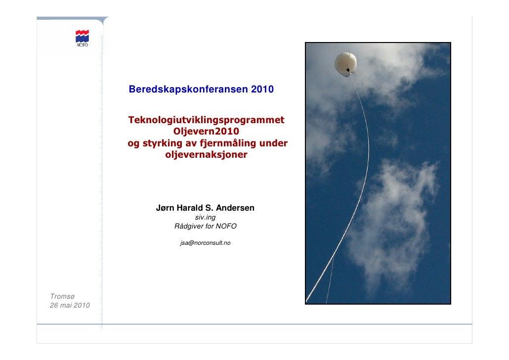 Jørn Harald S. Andersen - NOFO - Beredskapskonferansen 2010