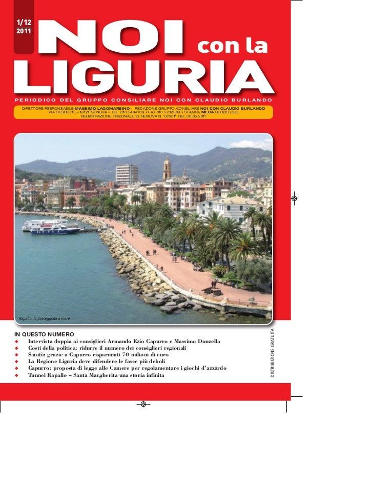 1/122011                                                                           con laPERIODICO DEL GRUPPO CONSILIARE N...