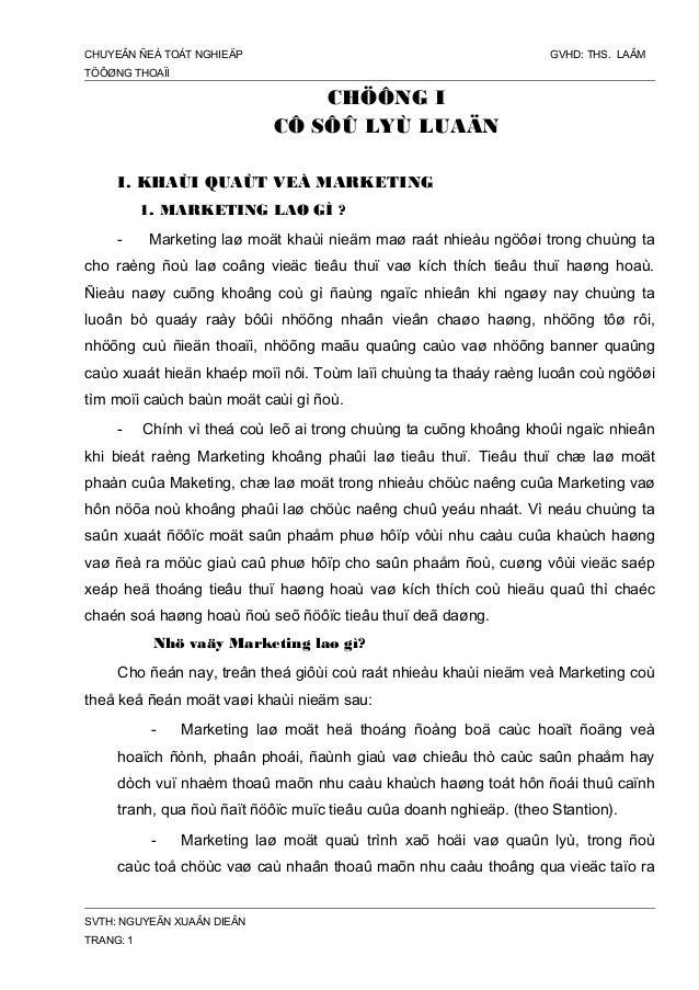 CHIẾN LƯỢC MAKETING-MIX CÔNG TY CAO SU HOC MÔN