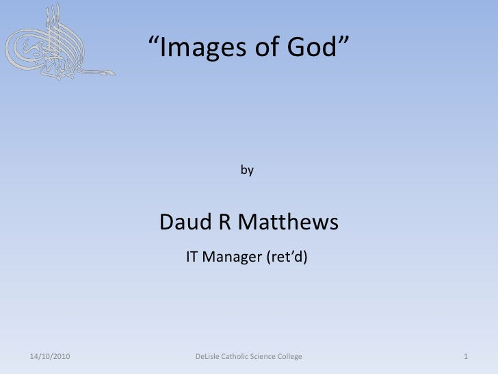 No images of god in islam