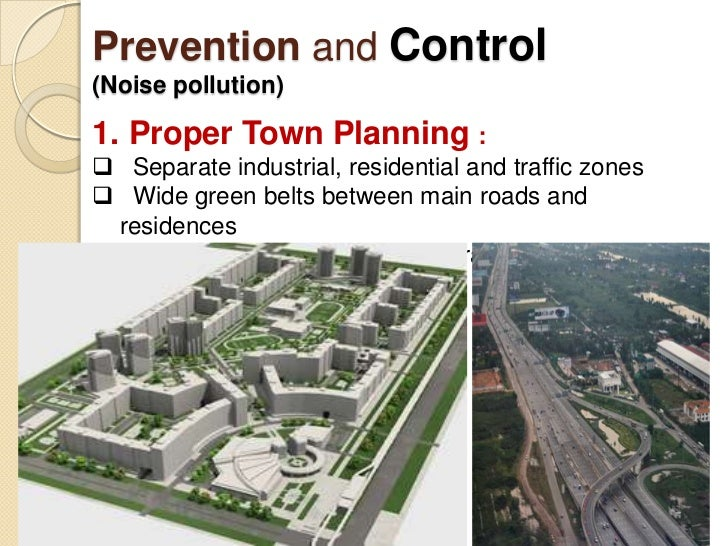 Noise Pollution Prevention And Control noise & radiation - health ...
