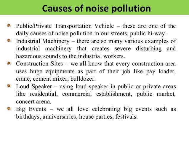 Noise Pollution Essay