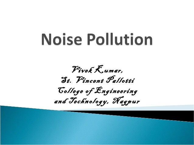 Noise pollution and solid waste management