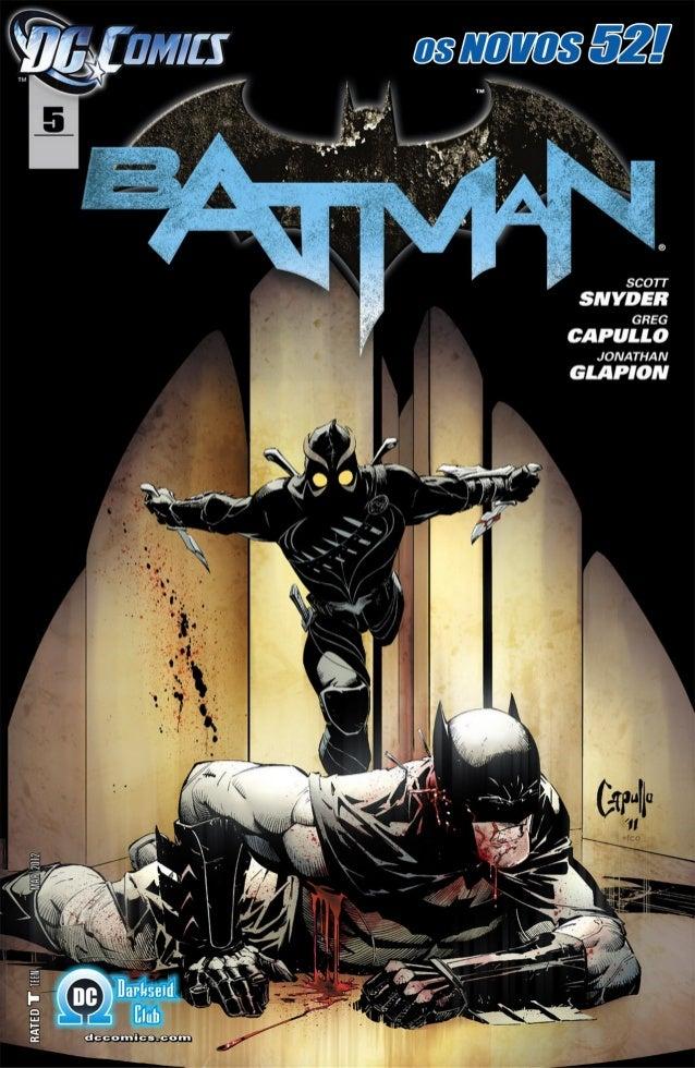 Batman #5 [os novos 52]