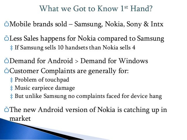 introduction nokia essay Read this essay on nokia case introduction come browse our large digital warehouse of free sample essays get the knowledge you need in order to pass your classes.