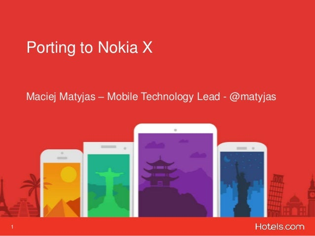 Porting Hotels.com to Nokia X